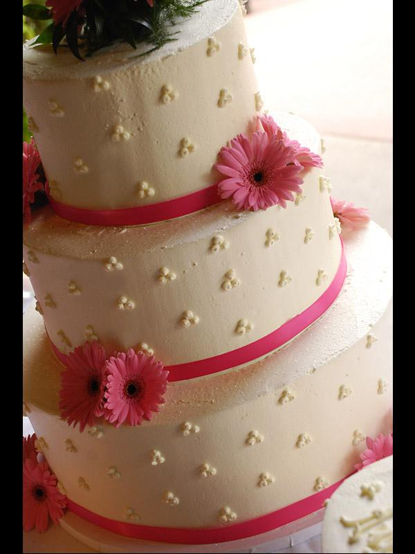 Buttercream Wedding Cake Designs   LoveToKnow dot trio cake