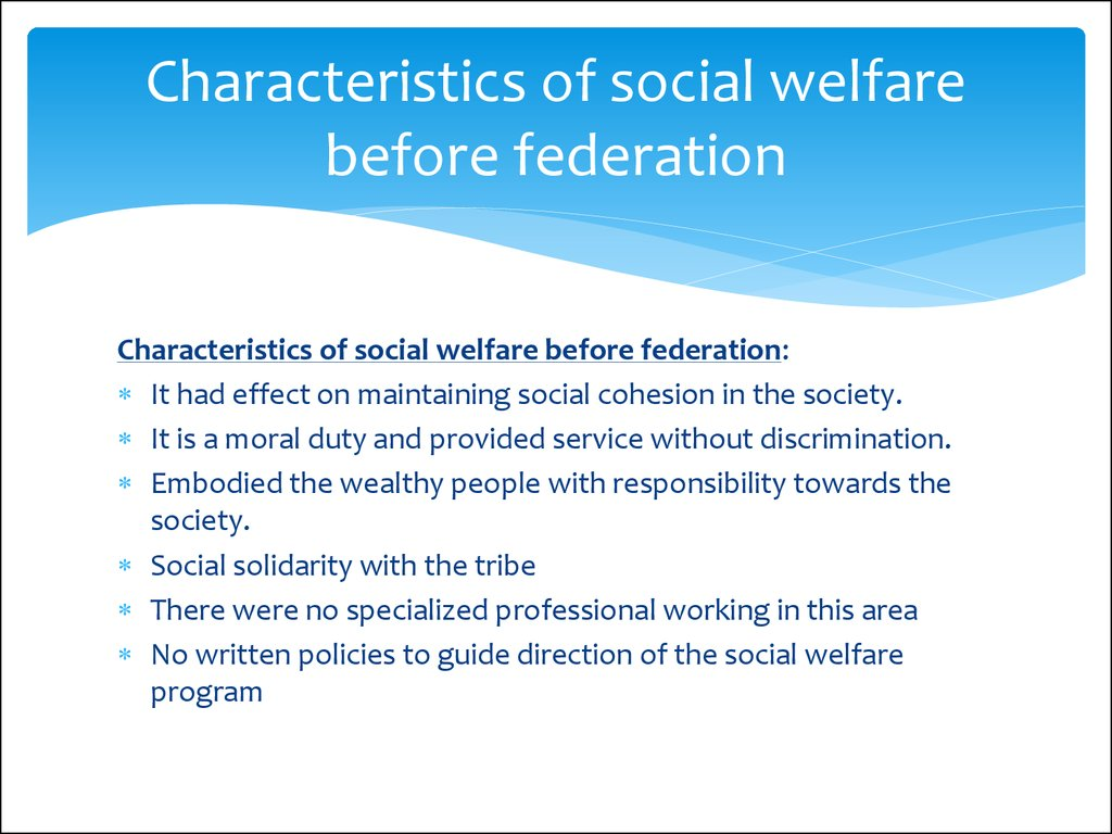 Elderly And Social Services