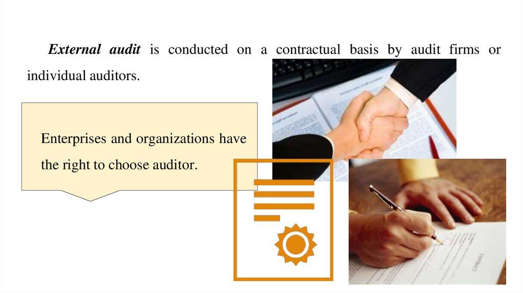 External And Internal Audit презентация онлайн