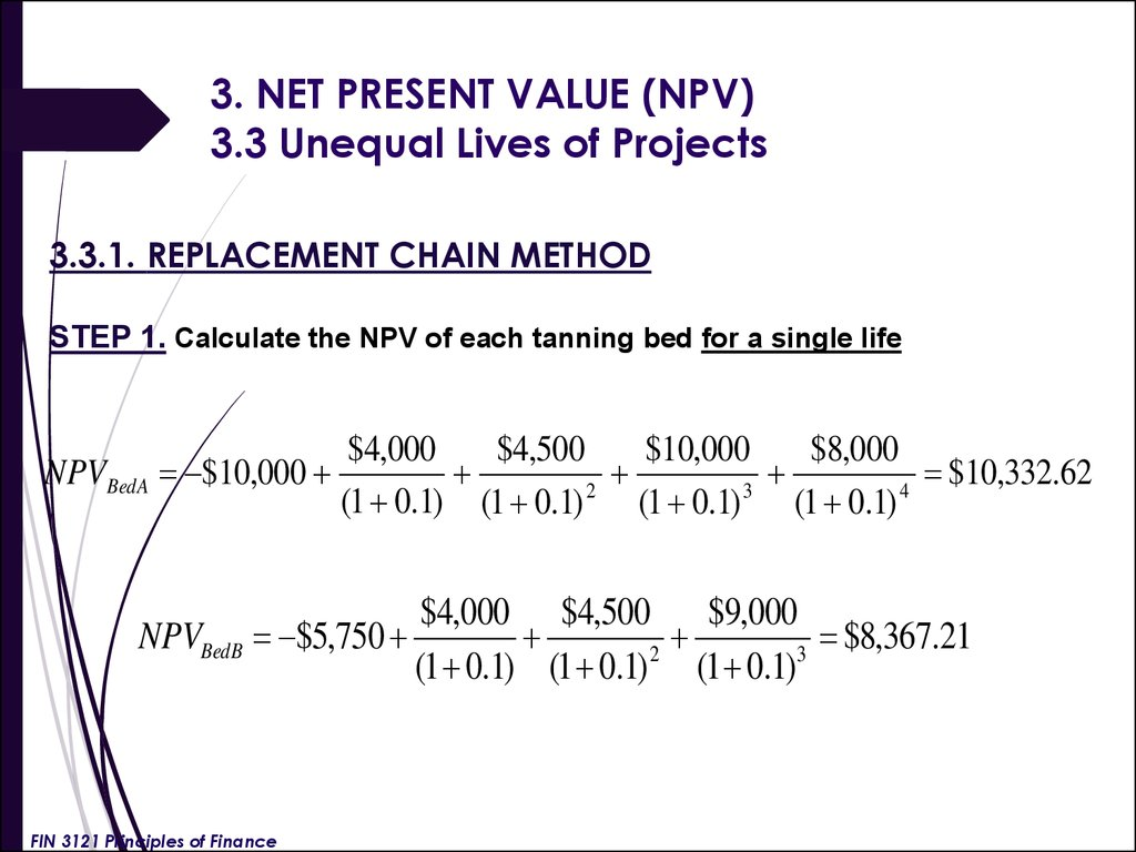 Investment Decision Rules Lecture 6 презентация онлайн