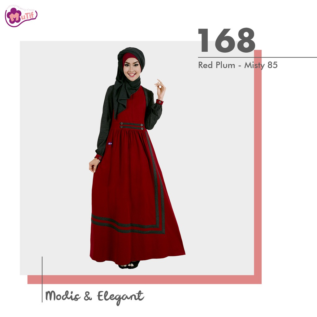 New Gamis Mutif Model  Original Branded Gamis Santai Formal D Shopee Indonesia