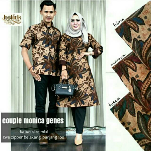 Model Baju Couple Tunik 6