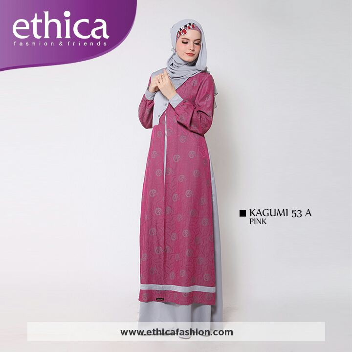30 Model Gamis Ethica 2019 Fashion Modern Dan Terbaru 2021