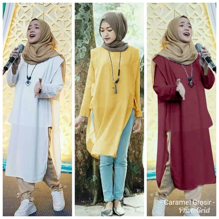 Model Baju Tunik Nissa Sabyan 1