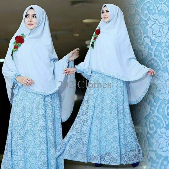 Queen Gamis Brokat Gliter Jumbo Maxi Brukat Bigsize Dress Brukat Jumbo Pink Shopee Indonesia