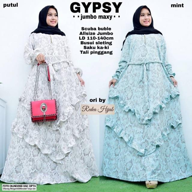 Tips Cantik Memakai Hijab Gypsy