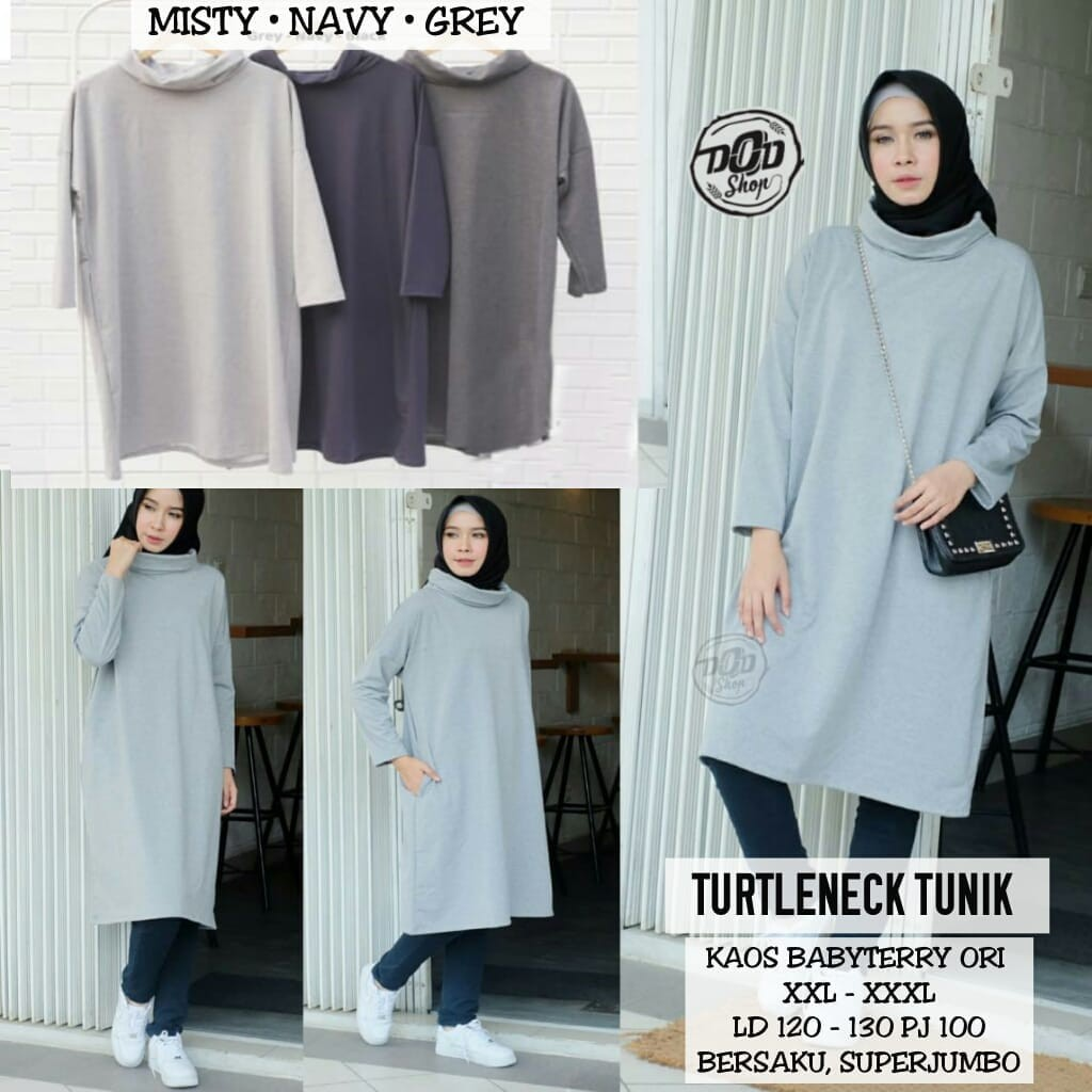 Model Baju Tunik Nissa Sabyan 5