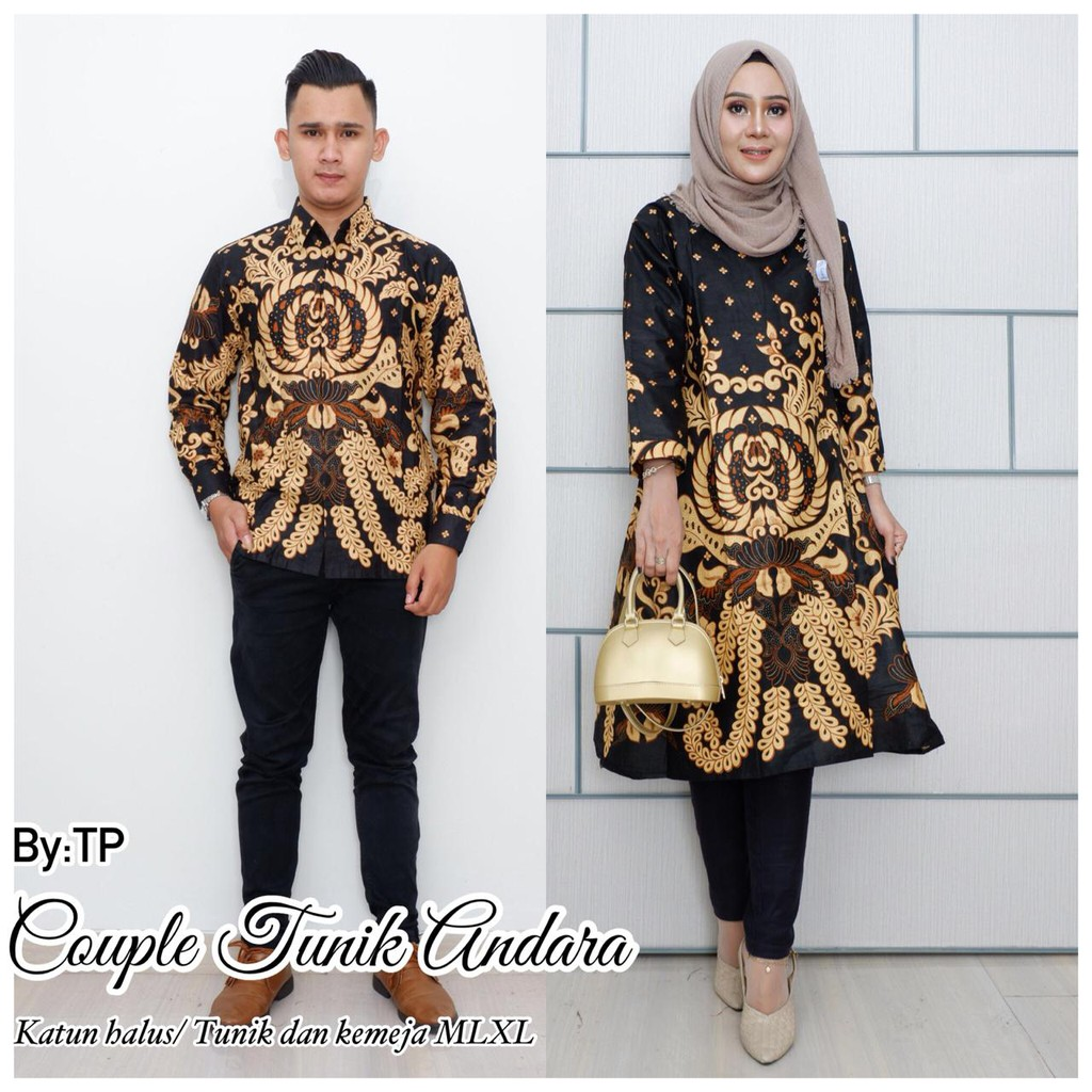Model Baju Couple Tunik 3