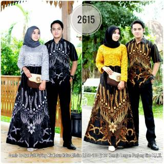 Model Baju Batik Couple Kombinasi Terbaru 19