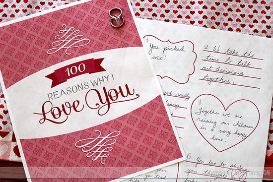 Reasons Book You Love I 100