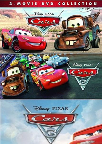 Cars 1 , 2 and 3 DVD collection ( 2017) | Souq - UAE