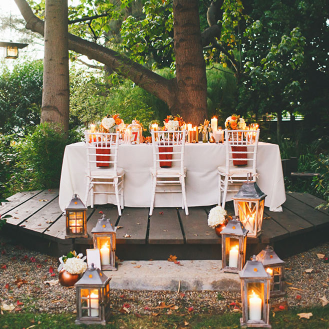 Unique Fall Wedding Colors