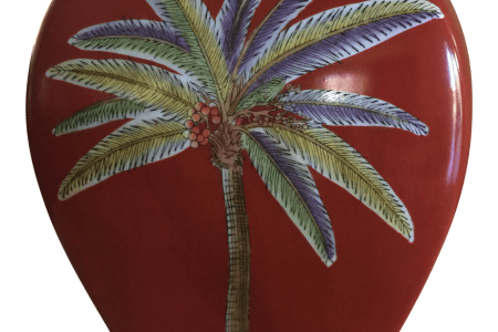 Download Wallpaper Palm Tree Vase Full Wallpapers