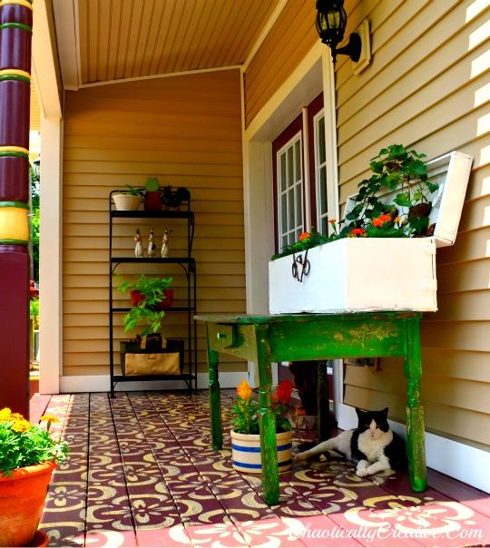 Back Porch Definition