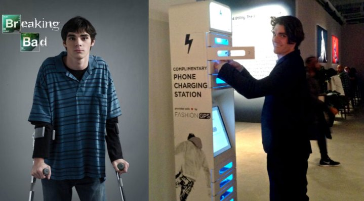 ChargeItSpot Powers Up New York s First Ever Fashion Week for Men     RJ Mitte Breaking Bad v1