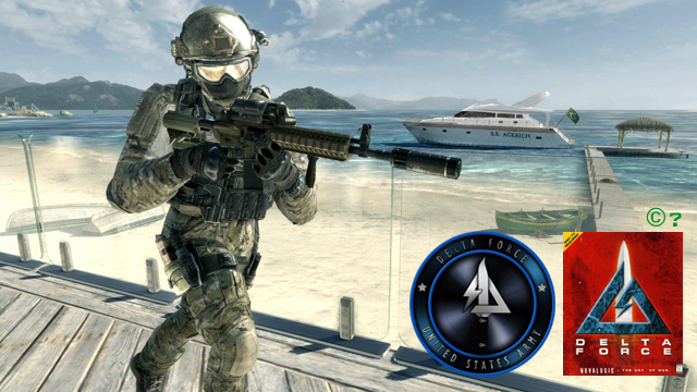 Call Of Duty Delta Force Symbol