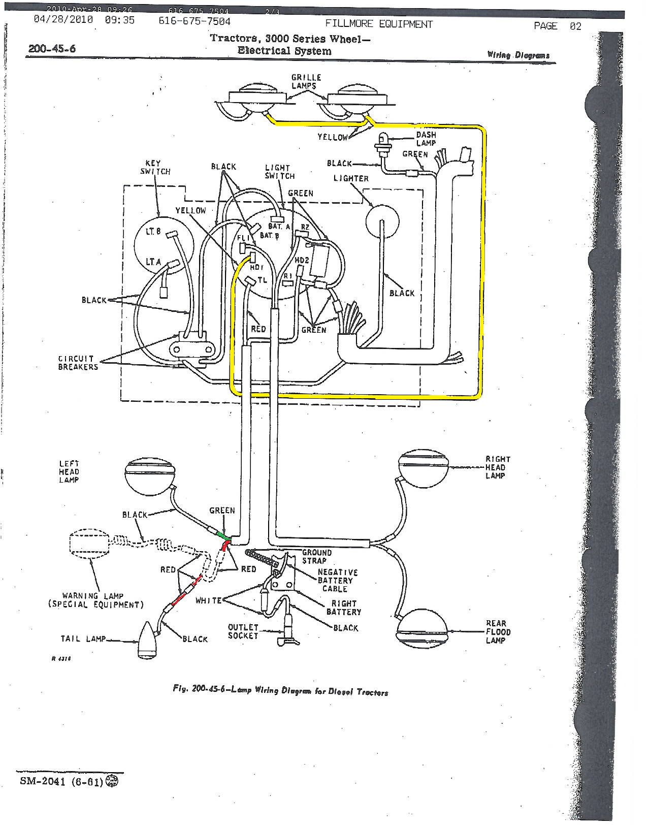 7D96B John Deere 2010 Wiring Diagram For A Light Switch ... on john deere 2020 front axle diagram, john deere 1010 tractor manuals, john deere 310g parts diagram, john deere 3010 parts diagram,