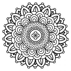 coloring pages mandalas # 57