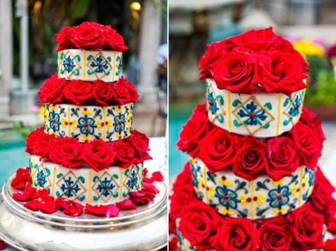 Mexican Wedding Cakes  Mexican Wedding Cakes  Mexican Wedding Cake     mexican wedding cake here is a picture i really like even though it is more  a spanish looking cake
