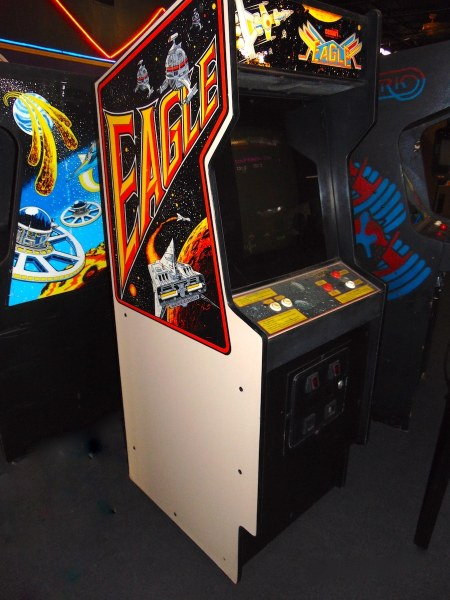 Centuri Eagle Arcade Game   Chattanooga Pinball Centuri Eagle Arcade Game