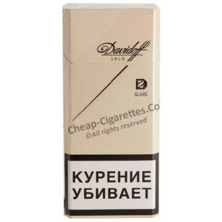 Cheap Davidoff Gold Slims online. Free delivery!