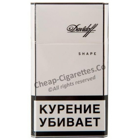 Davidoff Shape White cigarettes at lowest price online!