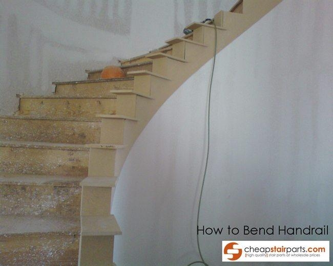 How To Bend Wooden Stair Handrail Cheap Stair Parts   Diy Curved Stair Railing   Spiral Staircase   Glass   Staircase Makeover   Stair Case   Railing Ideas