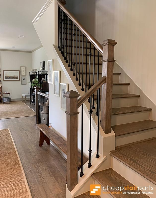 Cheap Stair Parts Shop Iron Balusters Handrail Treads Newels | Wooden Stair Railing Prices | Staircase Ideas | Deck Railing | Frameless Glass | Steel | Glass Stair