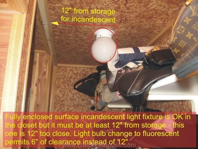 Closet Light Fixtures Led