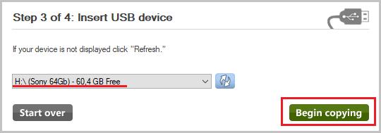 Flash-те Windows 7 орнату