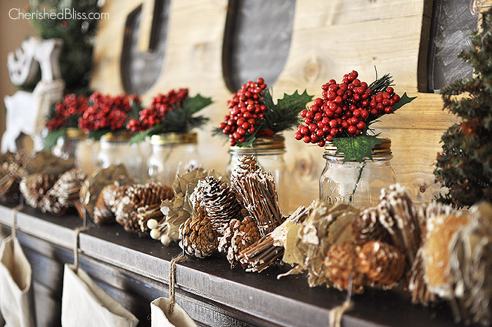 Christmas Decoration Ideas Fireplace Mantel