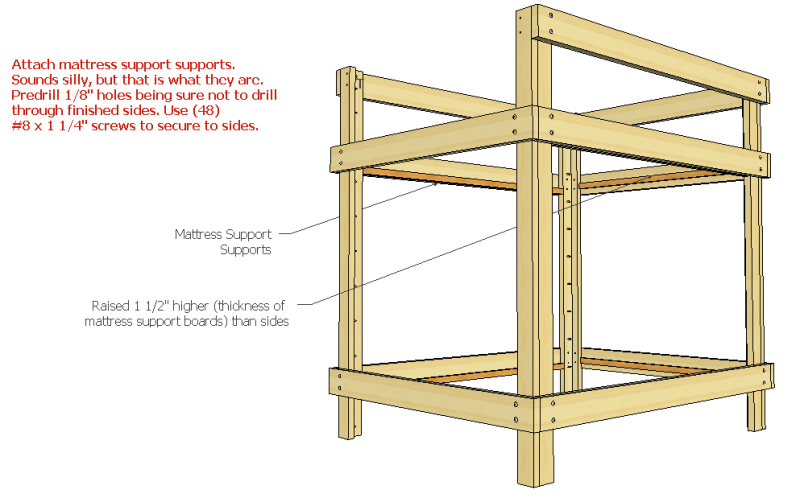 Build Bunk Bed Plans Full Over Queen Diy Porch Swing Stand