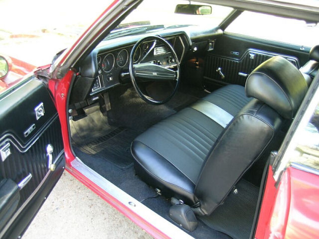Black 1971 Chevelle Black