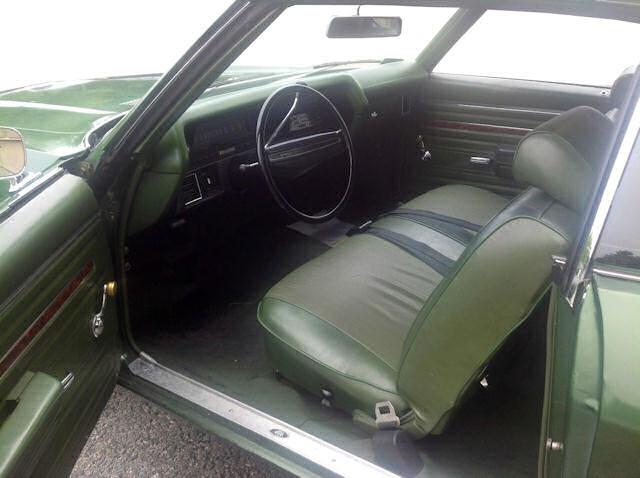 Green Chevelle Dark 1970