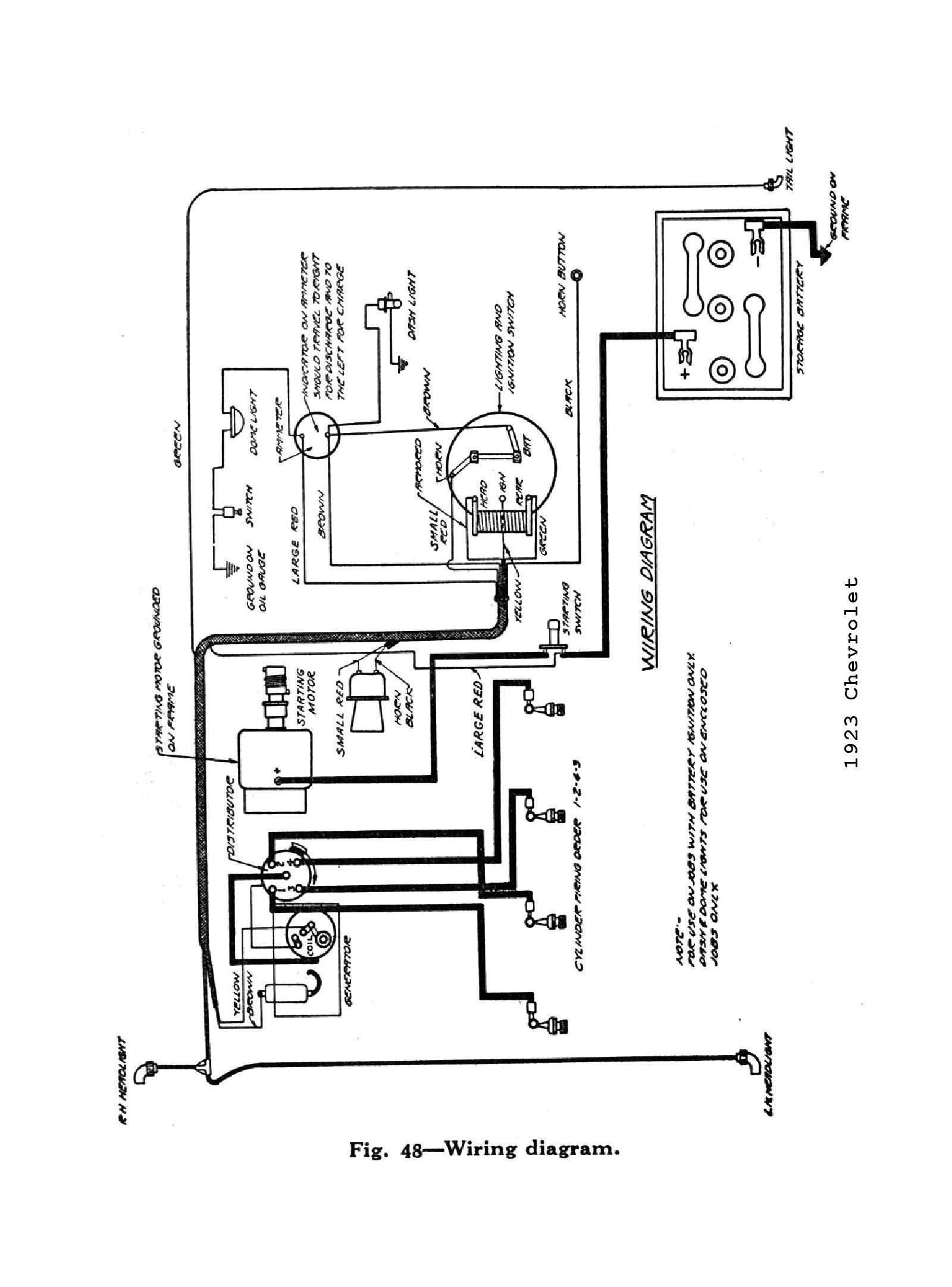 1966 Nova Turn Signal Wiring Diagram