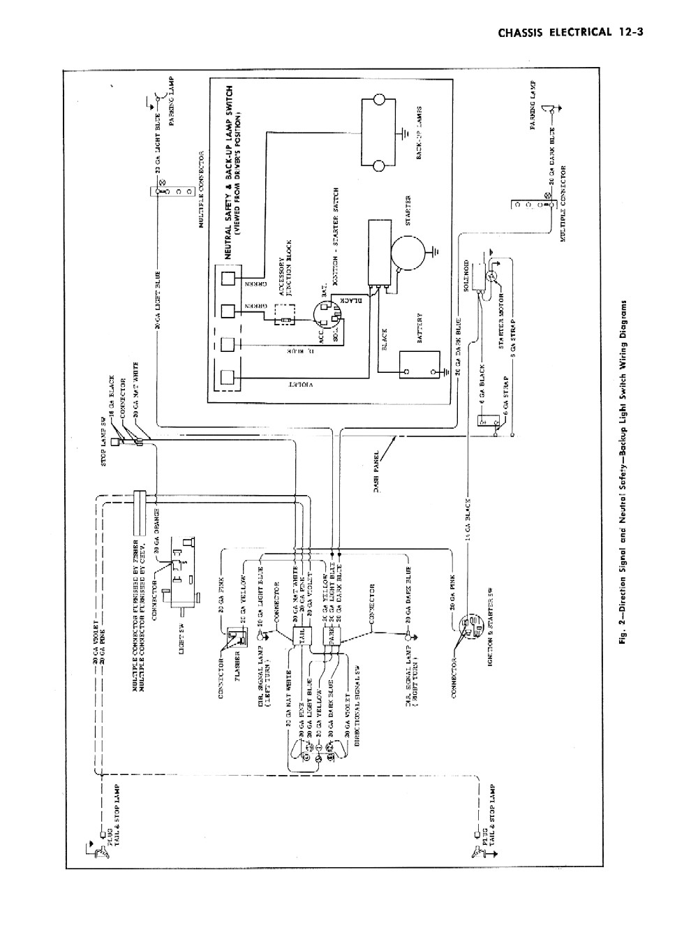 Dome Light Wiring Diagram 1957 Chevy Bel Air