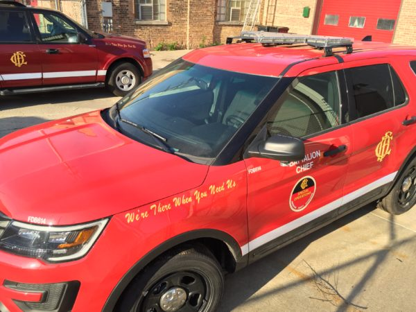 2014 Ford Explorer Fire Chief