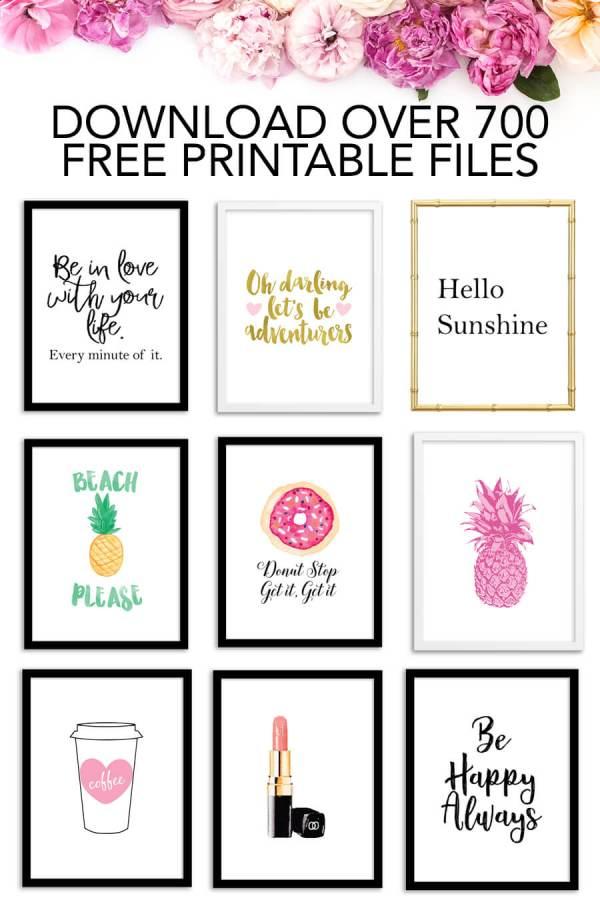 free printable # 0