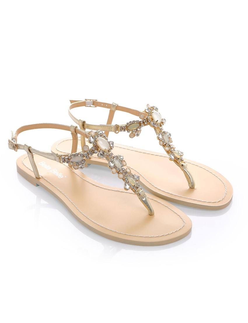 Flat White Wedding Shoes Bride