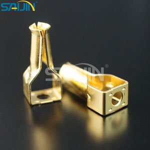 Electrical Accessories electrical contact components   China Saijin     Metal stamping parts for BS standard plugs