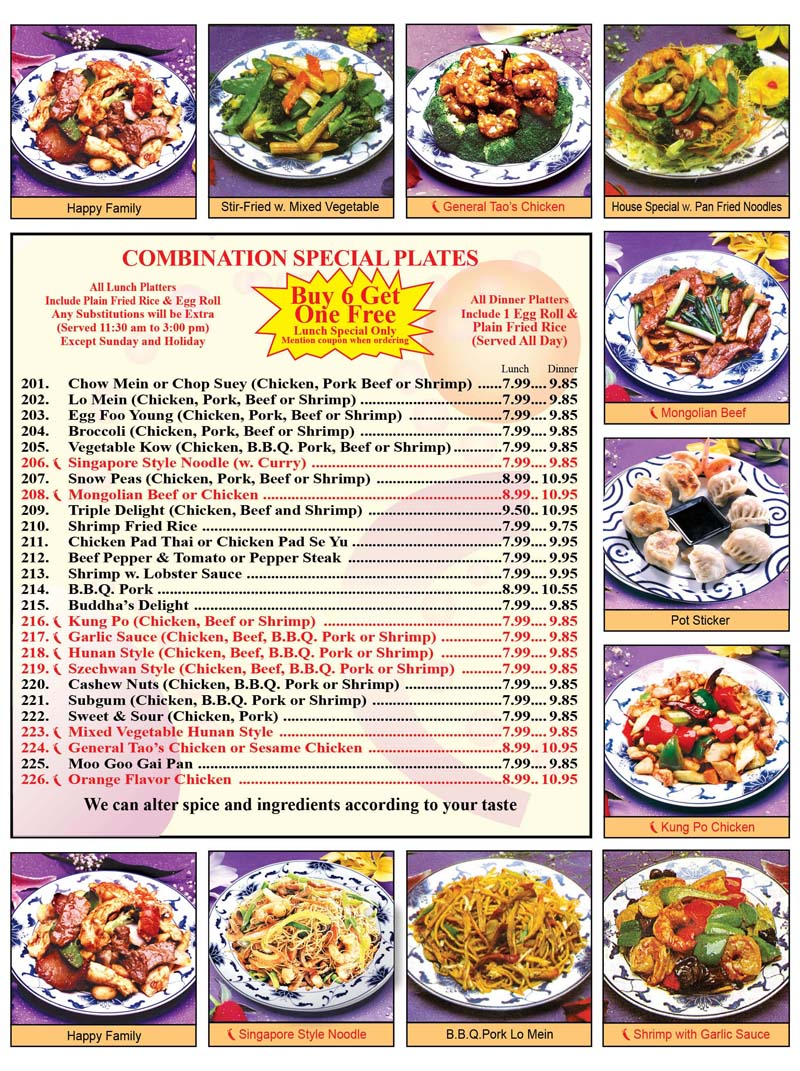 Thai Food Carry Out