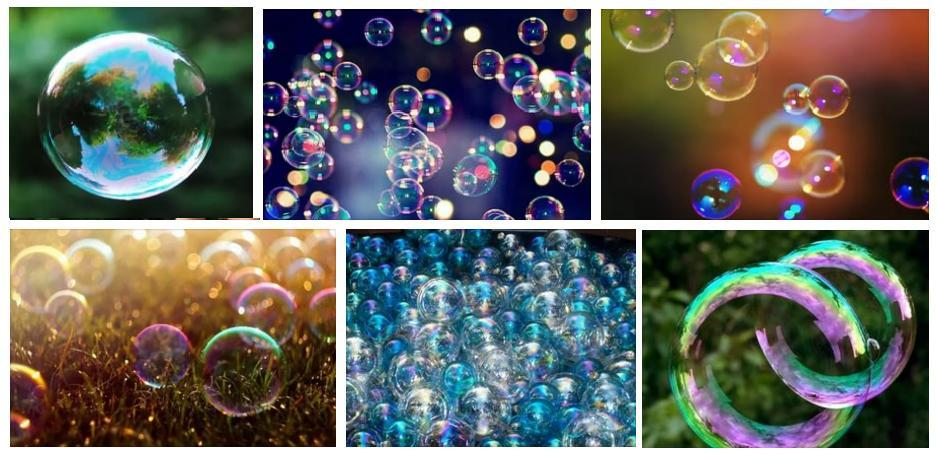 Soap bubbles foto