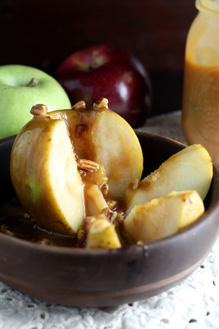 Inside Out Caramel Apples Chocolate With Grace