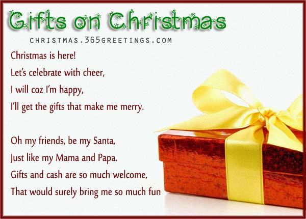 short funny christmas poem