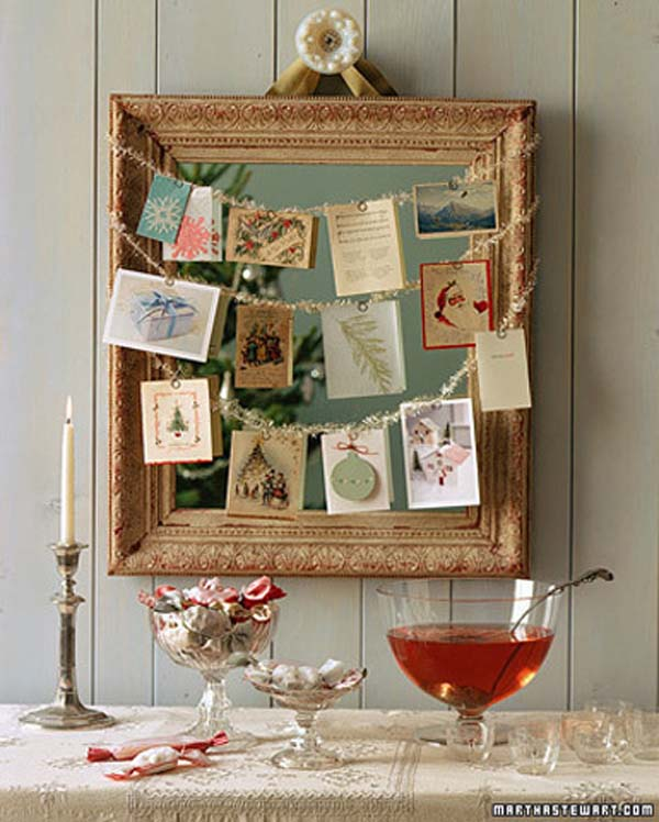 Vintage Rustic Christmas Table Decorations