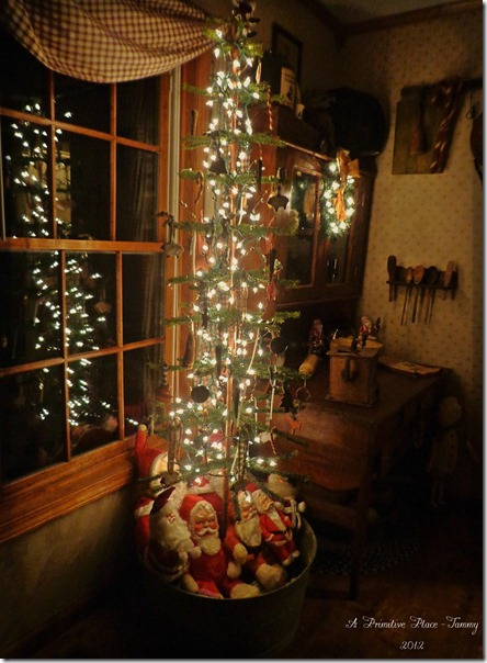 Stunning Primitive Christmas Decorations Ideas   Christmas     Simply Elegant Christmas Tree
