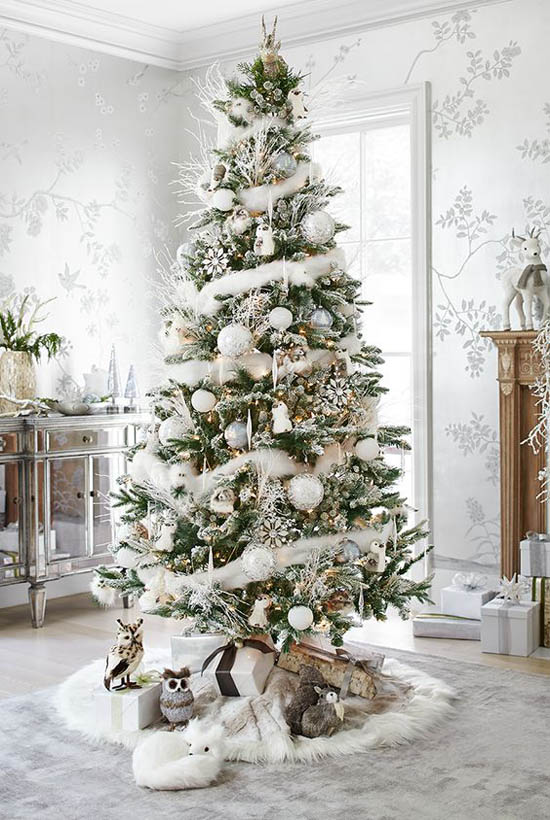40 Most Loved Christmas Tree Decorating Ideas on Pinterest   All     christmas tree pinterest 8