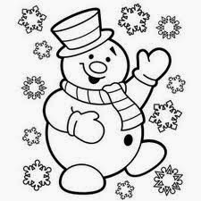 Five Cute Christmas Coloring Pages For Kids – Free ...