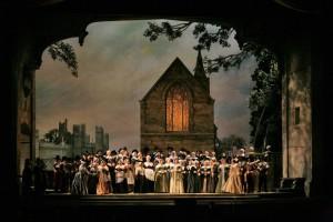 Қорытынды опера сахнасы