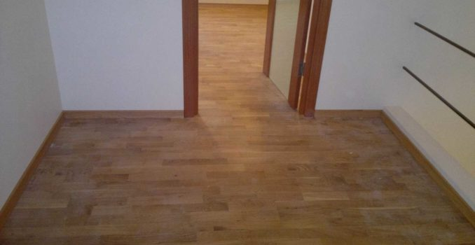 The perfect floor is the result of the proper laying of laminate